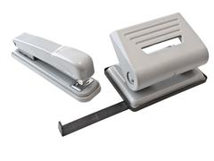 Hole Puncher and Stapler Stock Photos