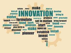Innovation new idea concept Stock Illustration