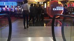 SkyCity Casino Auckland New Zealand Stock Footage