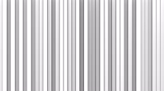White vertical lines 3D render loopable animation 4k UHD (3840x2160) Stock Footage
