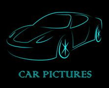 Car Pictures Indicates Transport Transportation And Photos Piirros