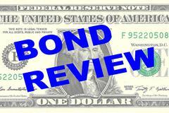 Bond Review concept Stock Illustration
