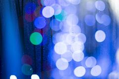 Abstract spots of lights Stock Photos
