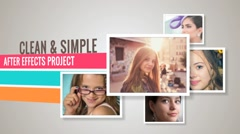 Clean And Simple - After Effects Template Kuvapankki erikoistehosteet