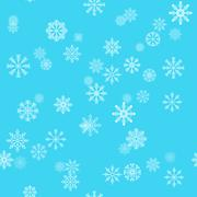 Christmas holiday background with snowflakes. Winter pattern - stock illustration
