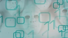 Hi-tech cybercrime 4k Stock Footage