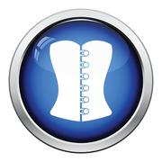 Sexy corset icon Stock Illustration