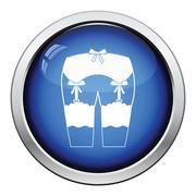 Sex stockings icon Stock Illustration