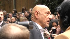 Ben Kingsley at the Jungle Book UK Film Premiere Stock Footage