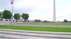 The Washington Monument DC Stock Footage