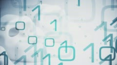 Computer password conception Stock Footage