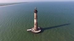 Lighthouse Orbit Stock Footage