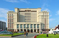 "Four Seasons Hotel Moscow 5 * (previously - hotel ""Moscow""), Russia Stock Photos"