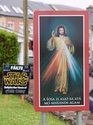 Jesus greats Obi Wan Stock Photos