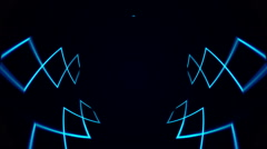 Abstract VJ Lines background Stock Footage
