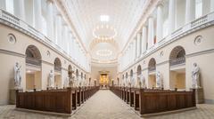 Vor Frue Cathedral in Copenhagen, Denmark Stock Photos