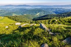 Stones on the hill of mountain range Kuvituskuvat