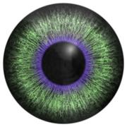 Eye iris generated hires texture - stock illustration
