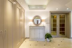 Luxurious anteroom for an upper-class family - stock photo