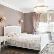 Ideal bedroom for woman in romantic style - stock photo