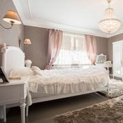 Enormous bedroom - stock photo