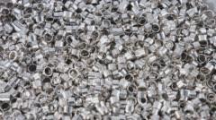 Metallic items group Stock Footage
