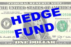 Hedge Fund concept Stock Illustration