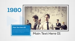 Business Timeline Corporate Presentation Commercial Intros Slideshows Stock After Effects