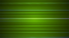 Broadcast Horizontal Hi-Tech Lines, Green, Abstract, Loopable, 4K Stock Footage