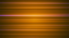 Broadcast Horizontal Hi-Tech Lines, Orange, Abstract, Loopable, 4K Stock Footage