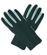 Black winter gloves Stock Photos