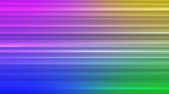 Broadcast Horizontal Hi-Tech Lines, Multi Color, Abstract, Loopable, 4K Stock Footage
