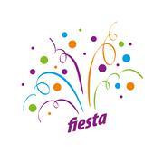 Holiday vector logo Stock Illustration