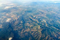 Earth Photo From 10.000m (32.000 feet) Above Ground Kuvituskuvat