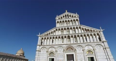 The Cathedral of Pisa. Stock Footage