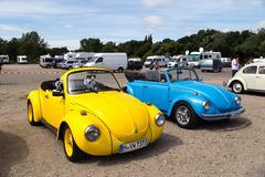 Volkswagen Kaefer Meeting in Celle, Germany Stock Photos
