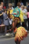 Bath, United Kingdom - August 25, 2012: Carnival Parade Stock Photos