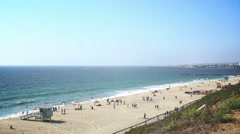 Los Angeles Redondo Beach summertime Stock Footage