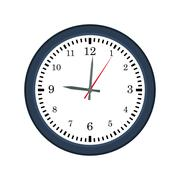 clock traditional time instrument icon. Vector graphic - stock illustration