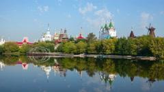 Kremlin in Izmaylovo, Moscow, Stock Footage