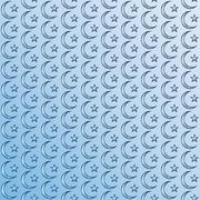 Muslim design. Abstract pattern in Arabian style. Islamic ethnic ornaments. Stock Illustration