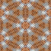Kaleidoscopic low poly rhomb style vector mosaic background Stock Illustration