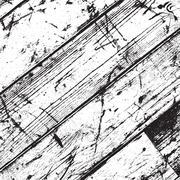 Distressed Wooden Texture Stock Illustration