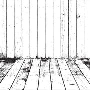 Distressed Wooden Texture Stock Illustration