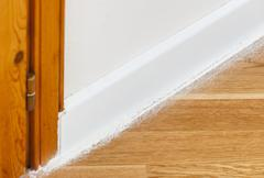 Insect powder on parquet Stock Photos
