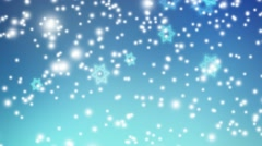 Abstract background with falling lights and Jewish stars. HD Israeli animation. Stock Footage