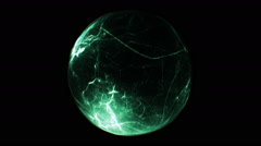 Fancy spherical abstract Stock Footage