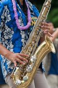 Hands of marching band brass Kuvituskuvat