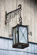 Old-fashioned lantern Stock Photos