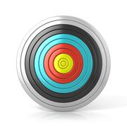Archery target Stock Illustration